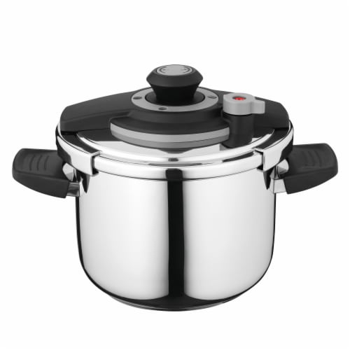 BergHOFF Stainless Steel Pressure Cooker Perspective: front