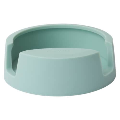 BergHOFF Leo Silicone Spoon Rest - Mint Perspective: front