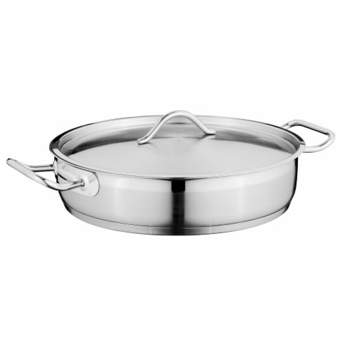 BergHOFF Essentials Stainless Steel Skillet Perspective: front