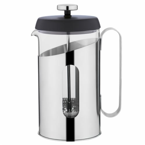 BergHOFF Essentials Stainless Steel Coffee & Tea French Press Perspective: front