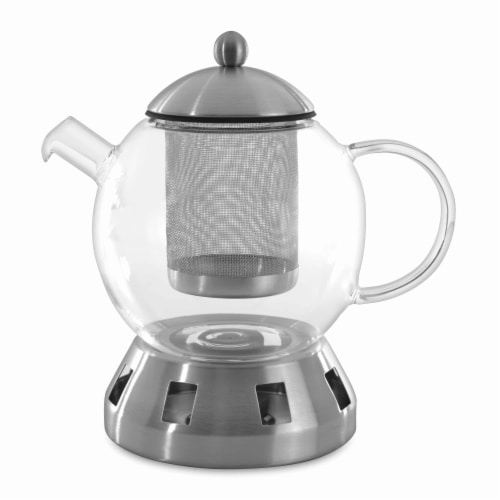 BergHOFF Glass Teapot - Clear Perspective: front