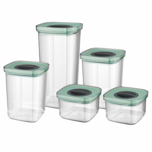 BergHOFF Smart Seal Food Container Set - Green Perspective: front