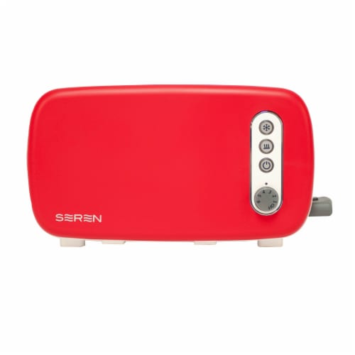 BergHOFF Seren Side Loading Toaster - Red Perspective: front