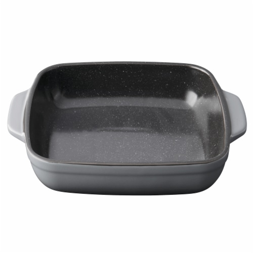 BergHOFF Gem Stoneware Square Baking Dish - Gray Perspective: front