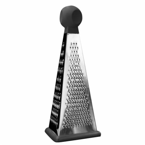 BergHOFF Essentials Stainless Steel 3-Sided Grater Perspective: front