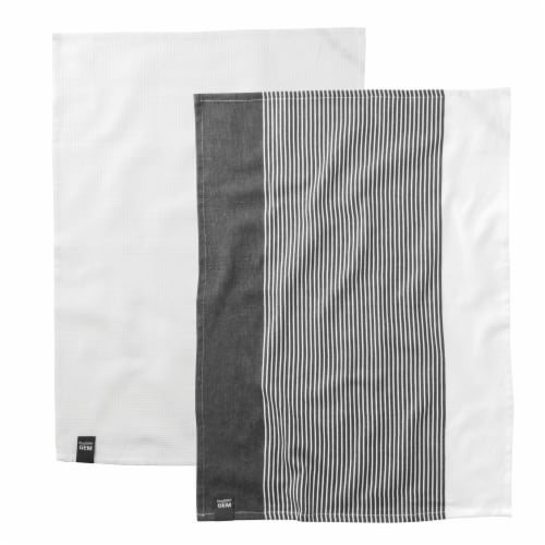 BergHOFF Gem Cotton Tea Towel Set Perspective: front