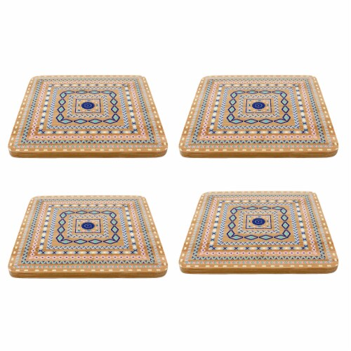 BergHOFF Multi-Colored Trivets Perspective: front