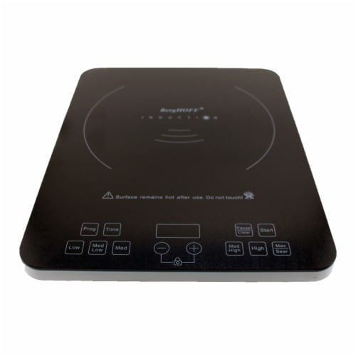 BergHOFF Touch Screen Induction Stove - Black Perspective: front