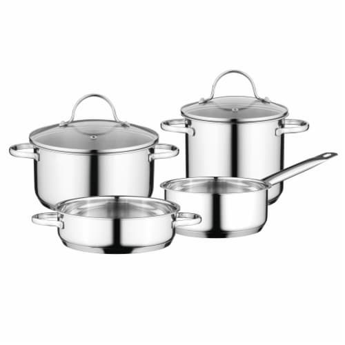 BergHOFF Essentials Comfort Stainless Steel Cookware Set Perspective: front