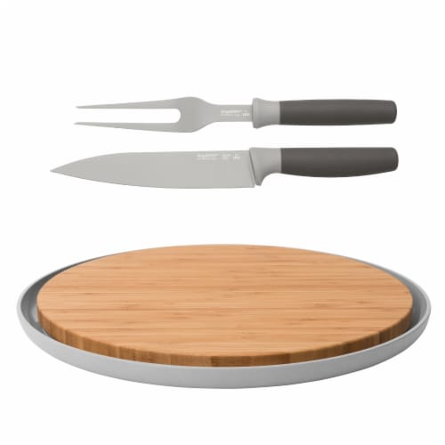 BergHOFF Leo Carving and Cutting Board Set Perspective: front