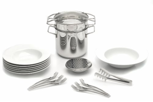 BergHOFF Studio 18/10 Stainless Steel Pasta Set Perspective: front