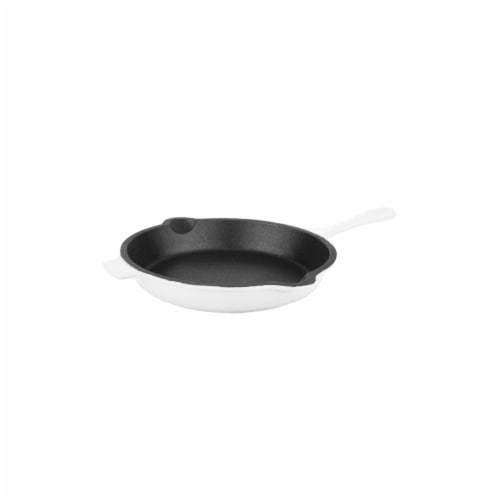 BergHoff Neo Cast Iron Fry Pan - White Perspective: front