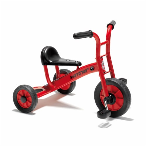Winther Small Viking Tricycle - Red Perspective: front