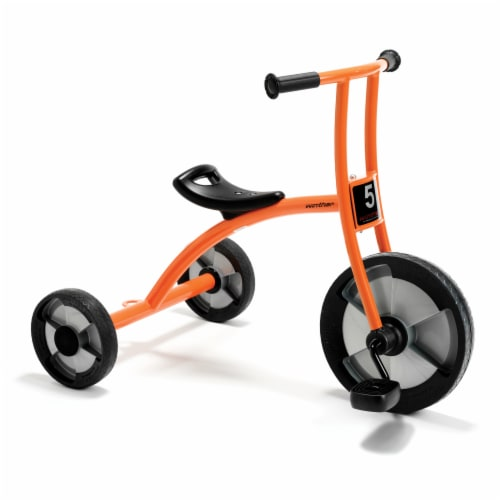 Winther Large Circleline Tricycle - Orange Perspective: front