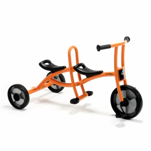 Winther Circleline Taxi Tricycle - Orange Perspective: front