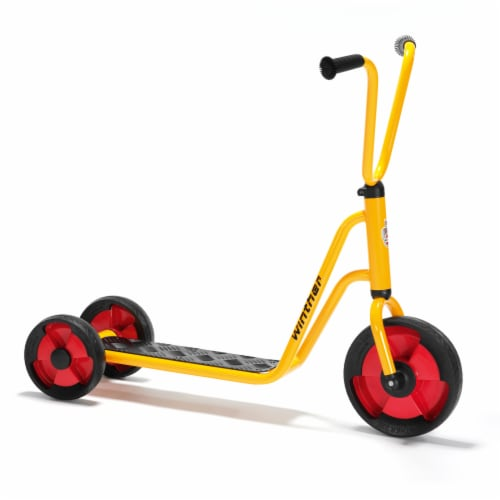 Winther 3 Wheel Scooter - Yellow Perspective: front