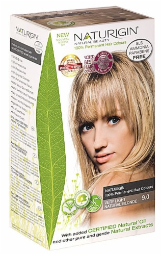 Naturigin  Permament Hair Color Very Light Natural Blonde 9.0 Perspective: front