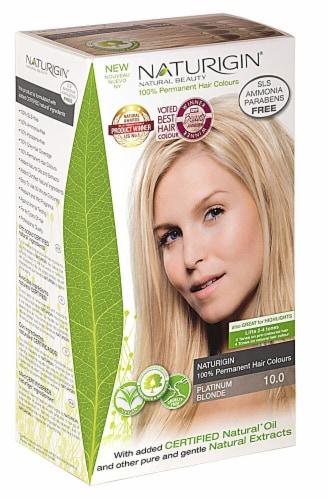 Naturigin  Permament Hair Color Platinum Blonde 10.0 Perspective: front