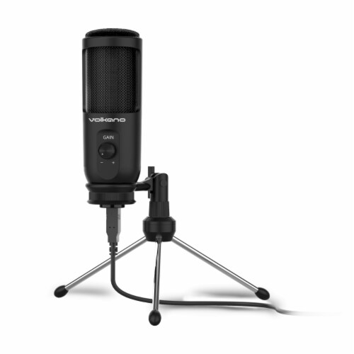 Volkano Stream Sereies USB 2.0 Multifunction Microphone Perspective: front