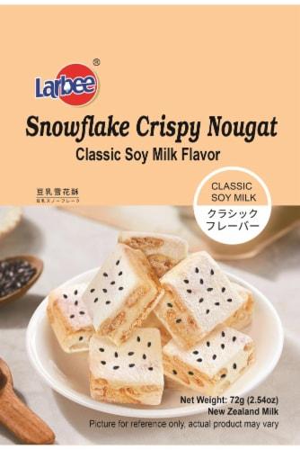 Larbee Snowflake Original Soy-milk Crisp Perspective: front