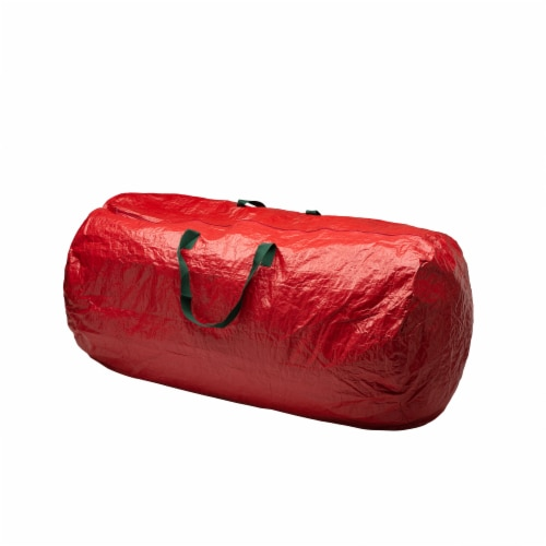 Glitzhome Christmas Tree Storage Bag - Red Perspective: front