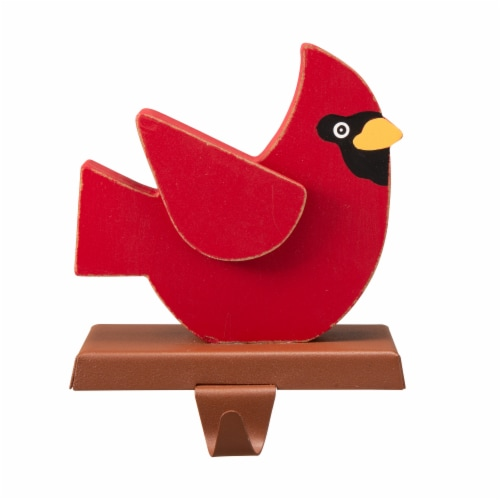 Glitzhome Cardinal Stocking Holder Perspective: front