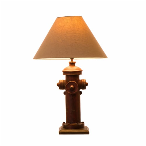 Glitzhome Hydrant Table Lamp Perspective: front