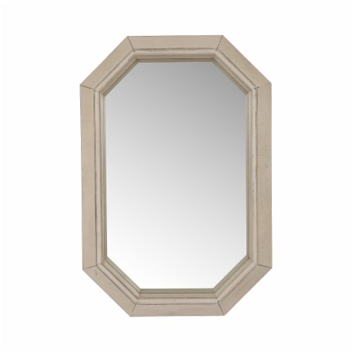 Glitzhome Octagon Wall Mirror Perspective: front
