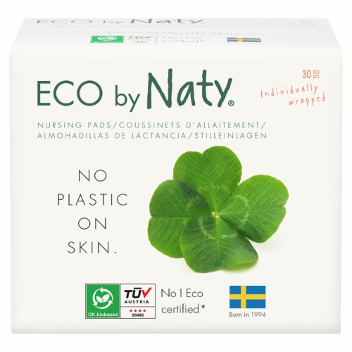 Eco by Naty Compostable Nursing Pads 360 Count Perspective: front