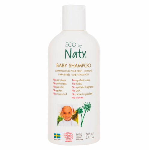Eco by Naty Baby Shampoo 6 Count Perspective: front