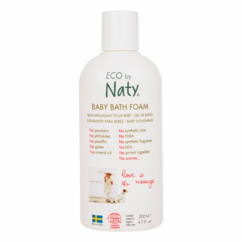 Eco by Naty Baby Bath Foam 6 Count Perspective: front