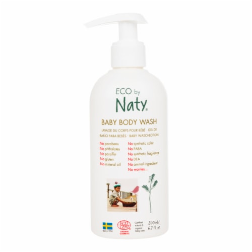 Eco by Naty Baby Body Wash 6 Count Perspective: front