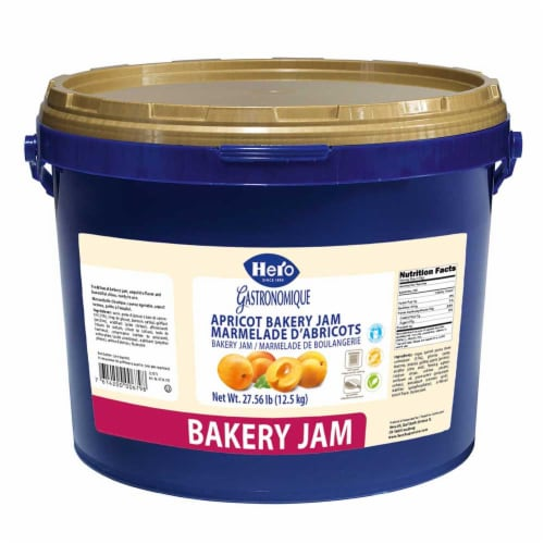 Hero Apricot Baking Jam, 27.56 Pound -- 1 each. Perspective: front