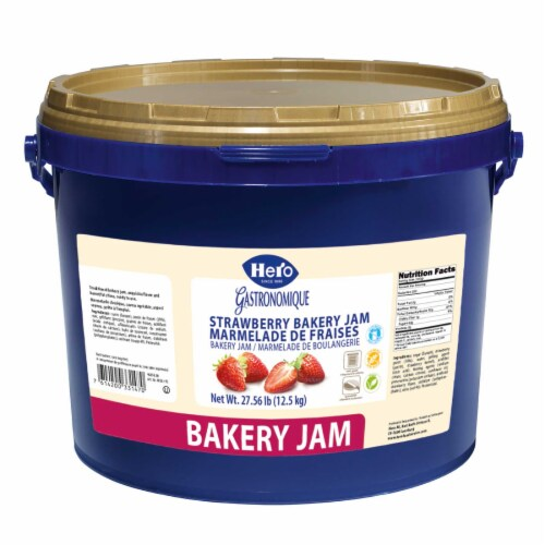 Hero Baking Strawberry Marmalade Baking Jam, 27.56 Pound -- 1 each. Perspective: front