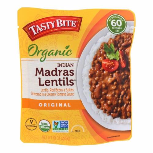 Tasty Bite Entree - Indian Cuisine - Madras Lentils - 10 oz - case of 6 Perspective: front