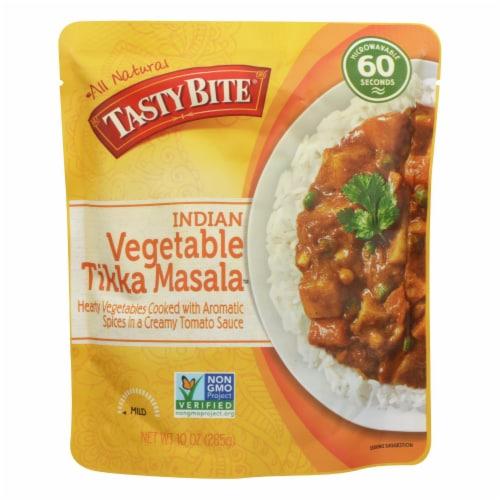 Tasty Bite Entree - Indian Cuisine - Vegetable Tikka Masala - 10 oz - case of 6 Perspective: front