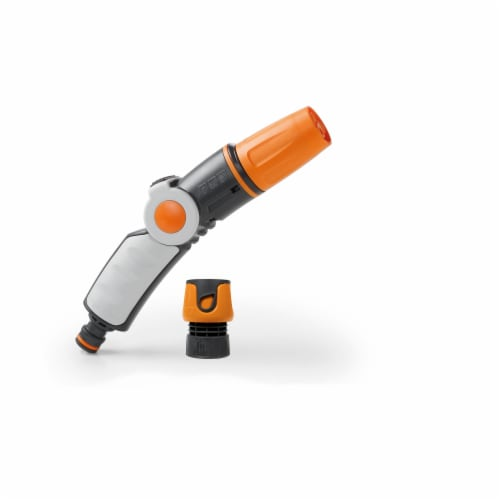 G.F. Garden 3 Jet Variable Flow Ergonomic Nozzle with Quick Connector Perspective: front