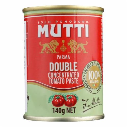Solo Pomodoro Mutti Parma, Double Concentrated Tomato Paste - Case of 12 - 4.9 OZ Perspective: front