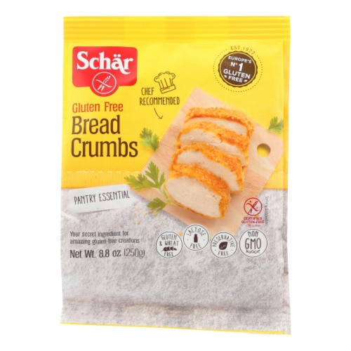 Schar Bread Crumbs - 8.8 oz Perspective: front