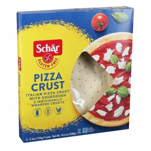 Schar Pizza Crust - Gluten Free - Case of 4 - 10.6 oz Perspective: front