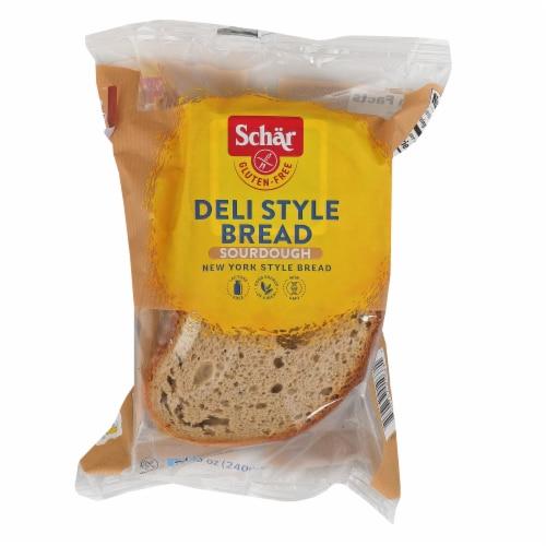 Schar Bread - Deli Style - Case of 5 - 8.5 oz Perspective: front