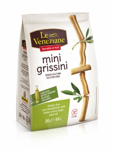 Le Veneziane Gluten Free Mini Grissini Corn Breadsticks Perspective: front