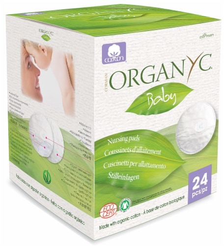 Organyc  Baby Nursing Pads Perspective: front