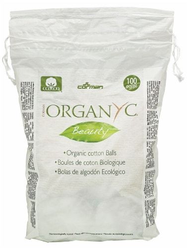 Organyc  Beauty Cotton Balls Perspective: front