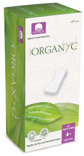 Organyc  Cotton Panty-Liners Light Flow Perspective: front