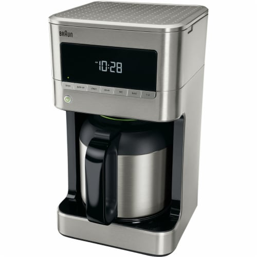 Braun BrewSense Drip Coffee Maker with Thermal Carafe - Stainless Steel Perspective: front