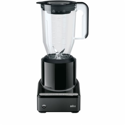 Braun Countertop Blender with Blending Pitcher - Black Perspective: front