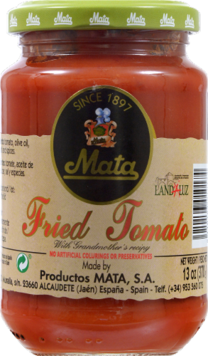 Mata Fried Tomato Sauce Perspective: front