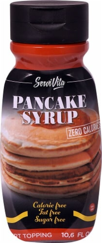 ServiVita Zero Calorie Pancake Syrup Perspective: front