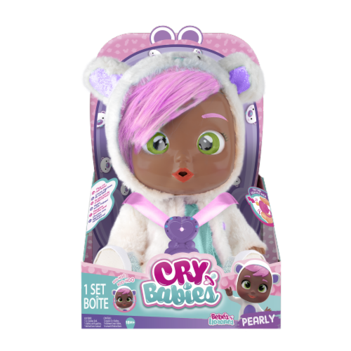 Cry Babies Pearly Doll Perspective: front